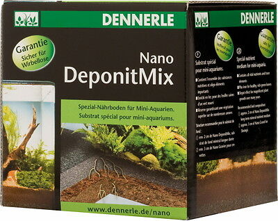 Dennerle Nano Cube 20L Complete Plus Aquarium Tank with Substrate Light & Filter 6