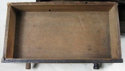 Antique 1860's Doll or Sample Empire Style Chest Nice Style 7