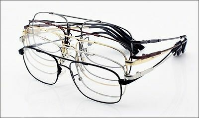 de5c93fafc ... Memory Titanium Full-flex Aviator Optical Eyeglass Frames Flexible  Spectacles Rx 3