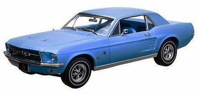 1967 MUSTANG FRONT Bench Seat Upholstery - Blue Made by TMI in the USA!