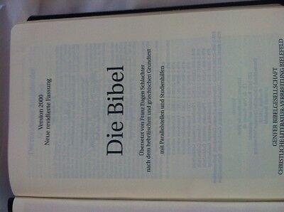 Schlachter Bibel 2000 Fibroleder Rot  Aktion für 16,90  statt 29,90 Kurze Zeit!! 6