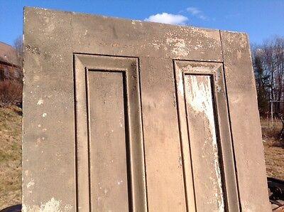 Antique Two Panel Exterior Door 4