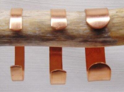 "Pure Raw COPPER CUFF Bracelet Blanks 1/4"" 3/8"" 1/2"" 3/4"" wide ~As-is / Embellish 7"