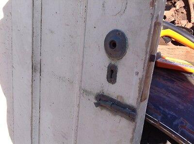 Antique Two Panel Exterior Door 5