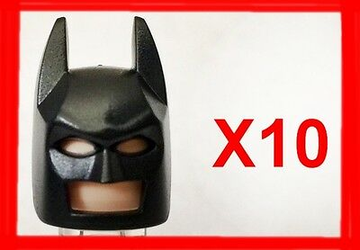 Lego Headgear Mask Batman x 1 Pearl Gold Type 2 Cowl for Minifigure