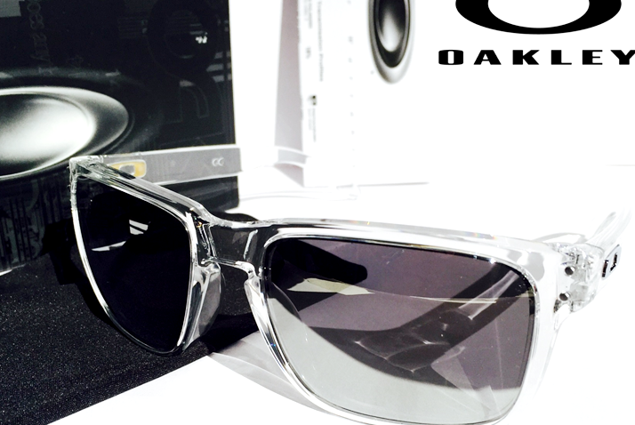 7dc6c722a8 NEW  Oakley HOLBROOK CLEAR w POLARIZED PRIZM Black Iridium Lens Sunglass  9102 5 5 of 10 See More