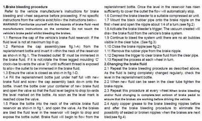 Pneumatic Car Brake Fluid Bleeder Bleeding Tool Brake Oil Replacement Kit ,1L