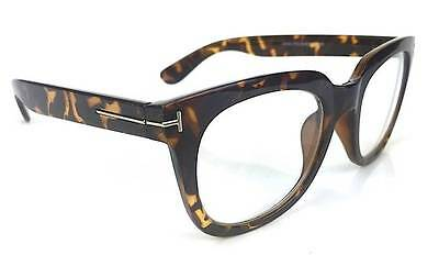 5fca1a7c248 ... Fashion Designer Square Rectangular Thick Frame Clear Lenses Men Eyeglasses  Ford 7