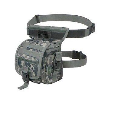 Tactical Military Drop Leg Bag Panel Utility Waist Belt Pouch Bag Sport New GA