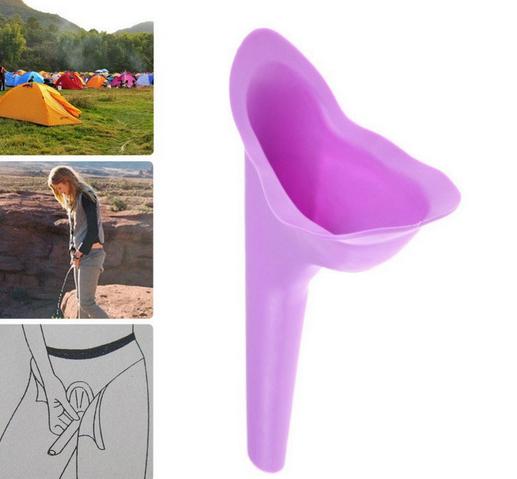 2 Urinale für Frauen Pinkelhilfe urinieren pinkeln im Stehen Urintrichter Urinal 2