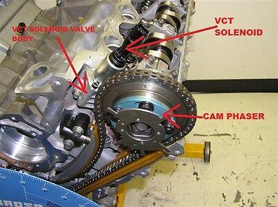 2004 2010 GENUINE Ford 5 4L 3v vct Variable Camshaft Timing Solenoid oem  2007