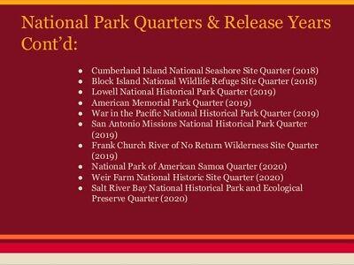 2019 P D S ATB Lowell National Historical Park Mass MA Mint Quarter Coins Money 6