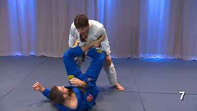Inverted guard dvd