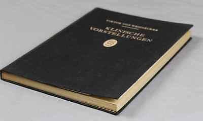 Buch: Klinische Vorstellungen - Viktor von Weizsäcker - Orig. von 1947  /S222