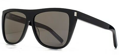 ddf69afa92fb ... Saint Laurent SL 1 black/smoke crystal lens (002 A) Sunglasses 3