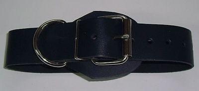 BDSM Lederriemen zusätzlicher D-Ring 5,0 cm mit Klemmschutz zweidrittel-Lochung 6