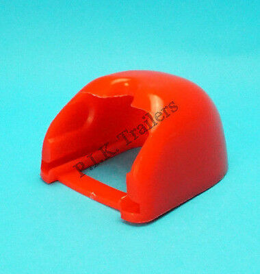 RED Rubber Soft Dock Protector for Pressed Steel Coupling Hitch