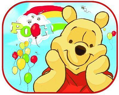 2x Disney Car Sun Shade UV Baby Children Kids Window Visor  Cars Peppa Winnie 8