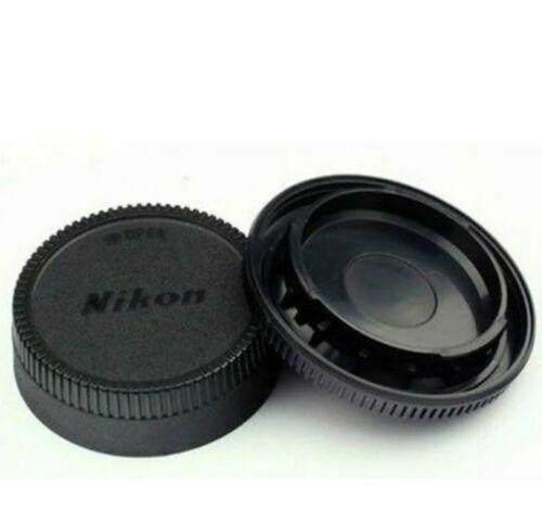 Body Lens Cap Cover (Front + Rear) For Nikon AF AF-S Lens DSLR SLR Camera New 3