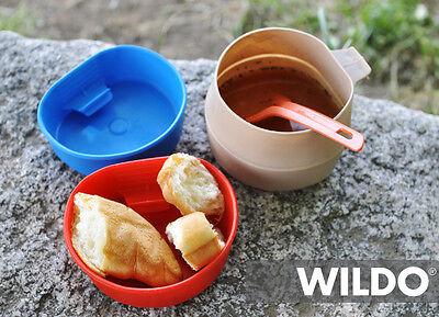 WILDO FOLD A CUP ORIGINAL FOLDING CAMPING OUTDOOR CUP MUG BPA FREE 12 COLOURS