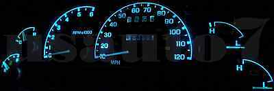 Dash Instrument Cer Gauge Ice Aqua Blue Led Light Kit Fits 95 03 Ford Ranger
