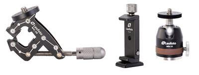 Leofoto Mc-30 Kit With Multifunction Clamp,Phone Holder And Mini Ballhead 11