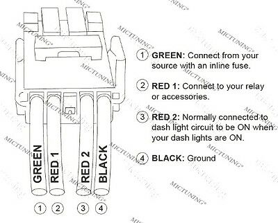 MICTUNING 12V PUSH Switch Blue LED Fog Lights For Toyota 100 series on fog light installation diagram, fog light switch toyota, fog lights for bmw 1997, fog light wiring problem, fog light headlight switch wiring, fog light wiring harness,