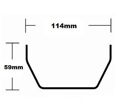 Square Line Guttering & Downpipe - Plastic Gutter Pipe Fittings Marshall Tufflex 2