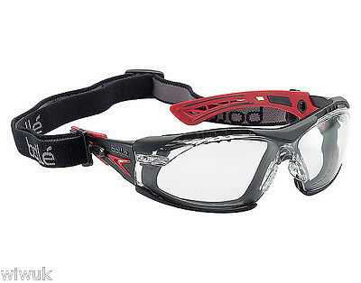 Bolle Rush PLUS + Adjustable Sports Style AS AF Safety Glasses Specs Spectacles 2