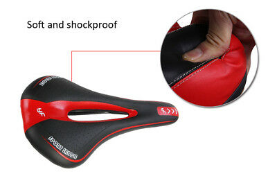 Bicycle Bike Cycle MTB Saddle Road Mountain Sports Soft Cushion Gel Pad Seat Red 9