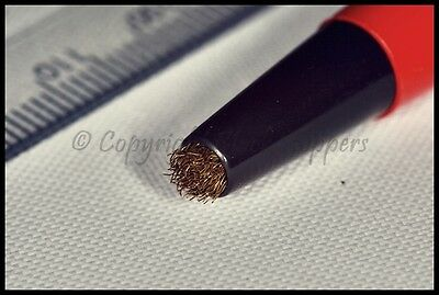 Brass Scratch Pencil Brush to Clean & Remove Rust & Dirt Pen Clocks Parts Tools 2