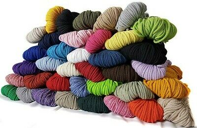 Baumwollkordel 3mm Baumwolle Kordel viele Farben