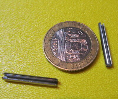 18-8 Stainless Steel Slotted Metric Spring Pin M2.5 Dia x 20 mm Length, 200 pcs 3