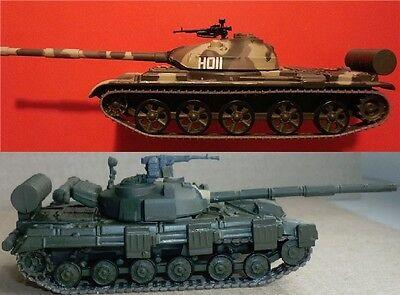 0de01d0cb204 1 72 T-62 OR T-64 or T-80 or T-72 Soviet Tank diecast   Magazine ...