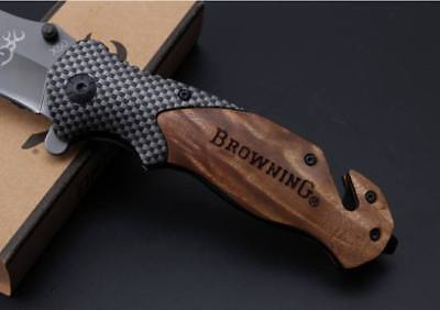 Browning Knife Folding Opening Pocket Knife (Hunting, Camping, Survival, Fishing 5