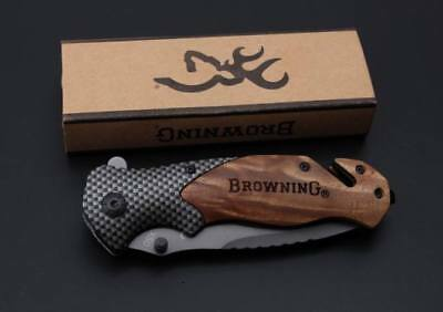 Browning Knife Folding Opening Pocket Knife (Hunting, Camping, Survival, Fishing 6