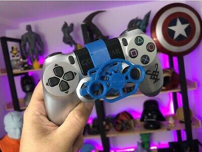 Mini volante intercambiable para mando playstation PS4 pro fat o slim 3d gamer 2