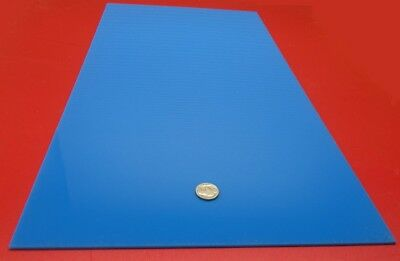 "3mm Thick .118/"" 1//8/"" Opaque//Sky Light Blue Cast Acrylic Sheet 12/"" x 12/"""
