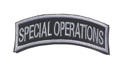"""écussons Epaulettes brodées""""Vocation de serment""""Coudre Patch Badge Épaule Flash"""