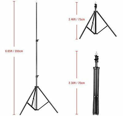 New Adjustable 6ft Background Support Stand Photo Video Backdrop Kit Photography 8