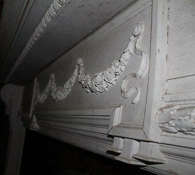 Spectacular Massive Fireplace Mantel Mantle #2 from NY Mansion Palace 5