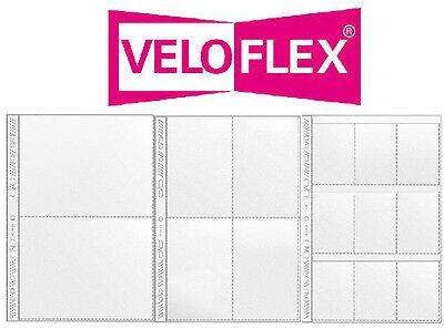 Veloflex Sammelhüllen , Prospekthüllen, Kartenhüllen, A4 geteilt auf A5, A6, A8