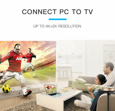 Cable hdmi 2.0 4K 60Hz ultra HD 2160p 3D Full HD HDTV Haute Vitesse 18GB 5