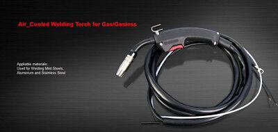 Gas/Gasless MIG Welder Welding Machine Torch Gun Mid Steel Aluminium Stainless 7