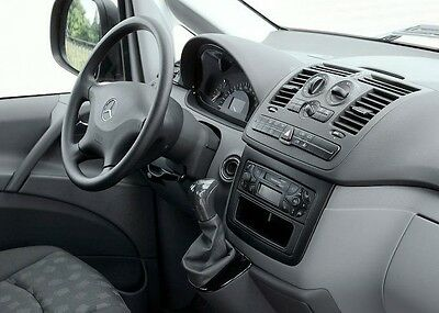 INTERIOR TRIM MERCEDES Benz Vito Viano W639 Wood Echt Holz Interieur ...