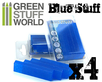 COMBO Blue Stuff Instant Plastic Clay *and* 12' Green Stuff - for BNIB Wargames 4