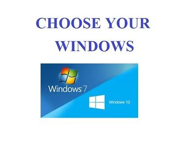 Full Dell/hp Dual Core/amd Desktop Tower Pc&tft Computer , Windows 10 &8Gb 3Tb 3
