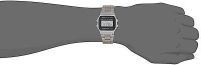 CASIO A158W-1 Unisex Classic Silver Digital A158 Sport Watch WR 30M NEW 5