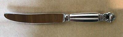 GEORG JENSEN=DENMARK=925 Sterling Silver=BREAKFAST KNIFE=ACORN PATTERN=+1945. 2