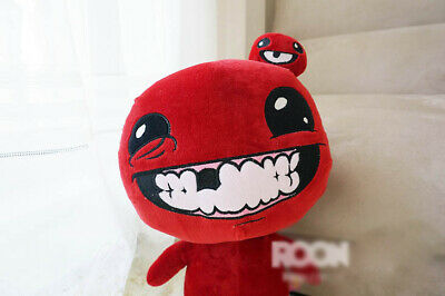 The Binding of Isaac Super Meat Boy Plush Doll Cosplay Stuffed Toys ISSAC Gift